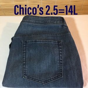 Chicos ankle jeans 2.5=14L